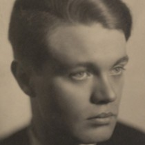 René Crevel par Man Ray