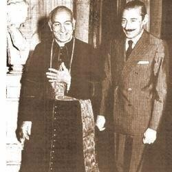 Bergoglio, Videla, Franois Ier